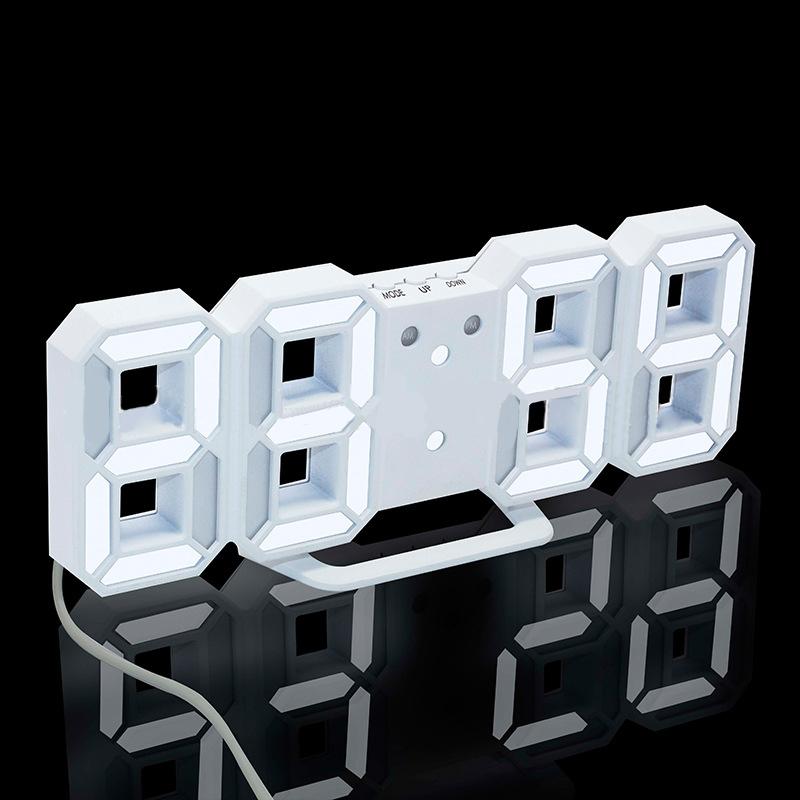 modern digital led schreibtisch wanduhr nacht wecker uhren. Black Bedroom Furniture Sets. Home Design Ideas