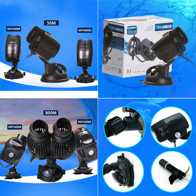 Aquarium wave maker marine reef fish tank powerhead water for Fish tank wave maker