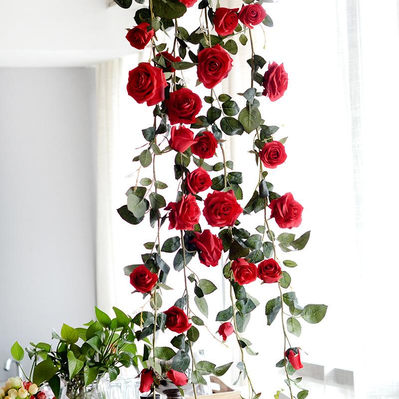 pflanzen k nstliche blumen girlande kunstpflanzen m bel. Black Bedroom Furniture Sets. Home Design Ideas