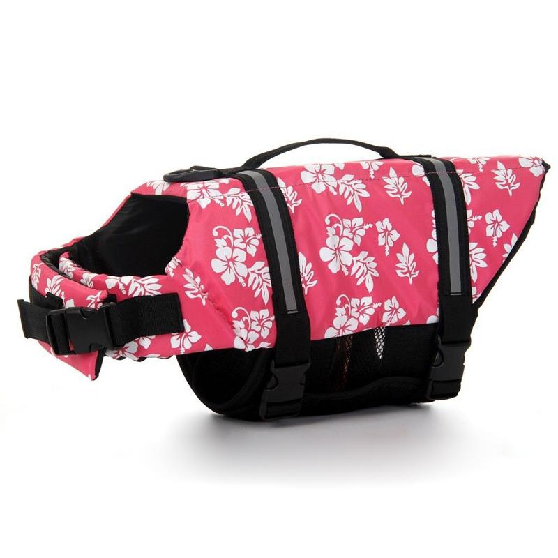 Dog-Life-Jacket-Clothes-Vest-Safety-Swimwear-Buoyancy-Cloth-Waterproof-Pet-Coat