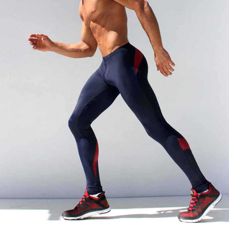 Men Compression Pants Base Layer Skin Tights Running Workout Gym Sports Athletic