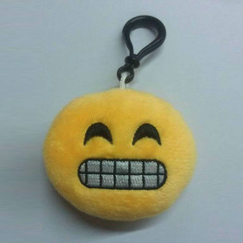 Emoji-Stuffed-Soft-Cushion-Cute-Face-Novelty-Keychain-Emoticon-Key-Ring-Keyring