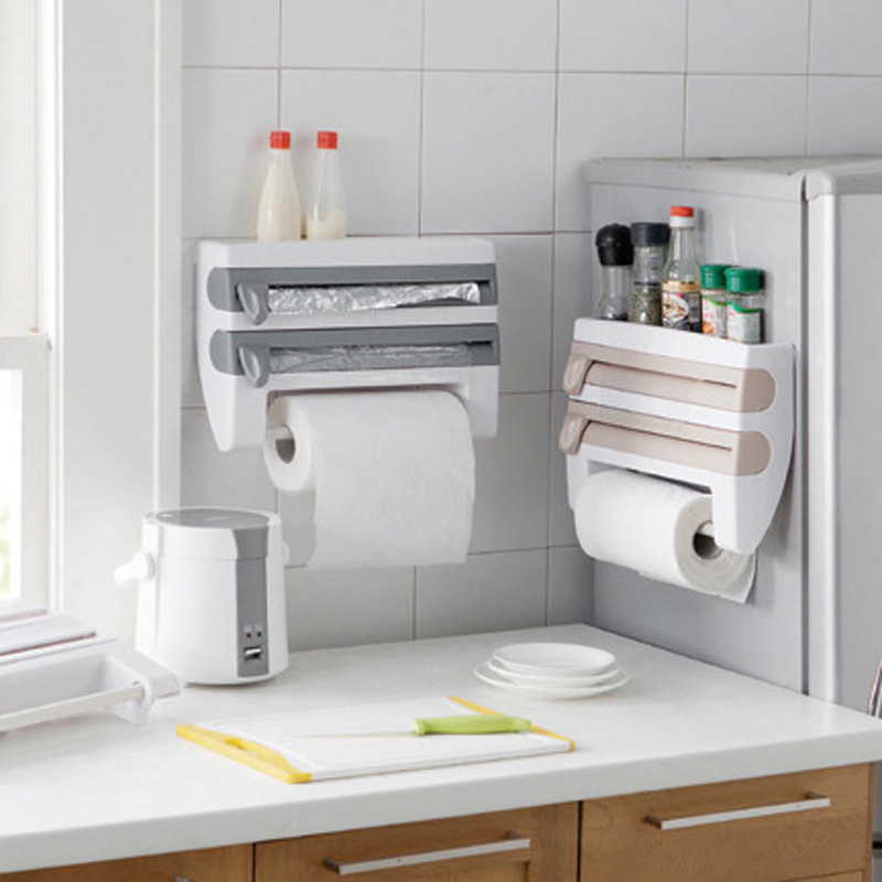 How To Install A Wall Mounted Kitchen Roll Dispenser