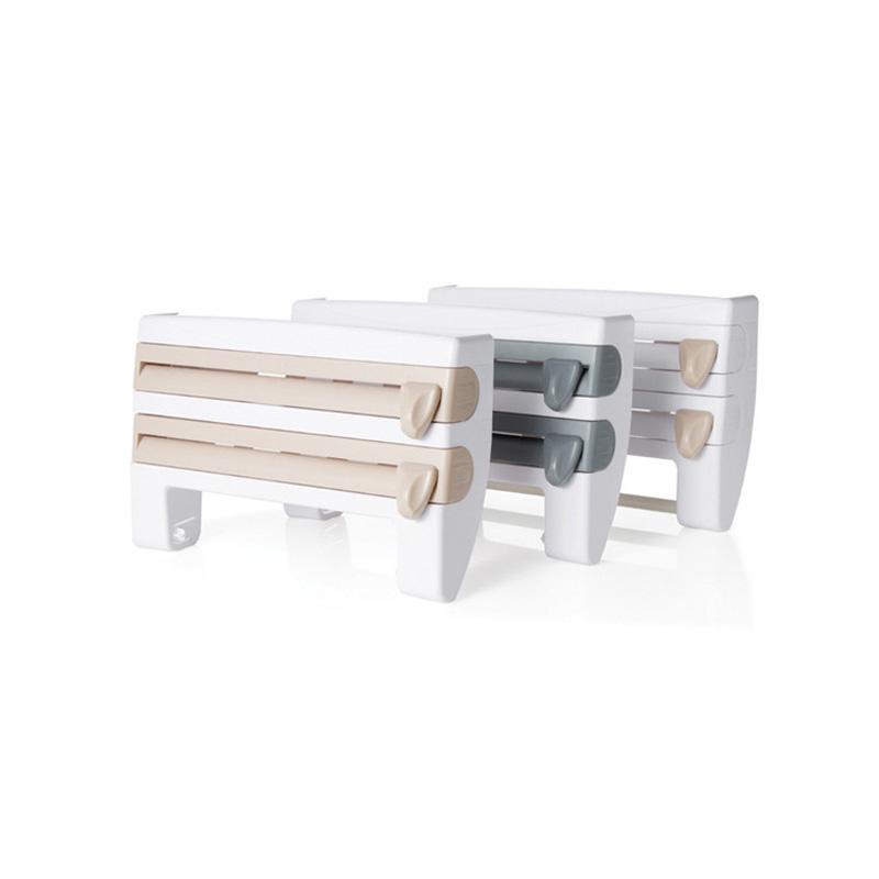 Kitchen Foil Cling Film Wall Holder And Dispenser