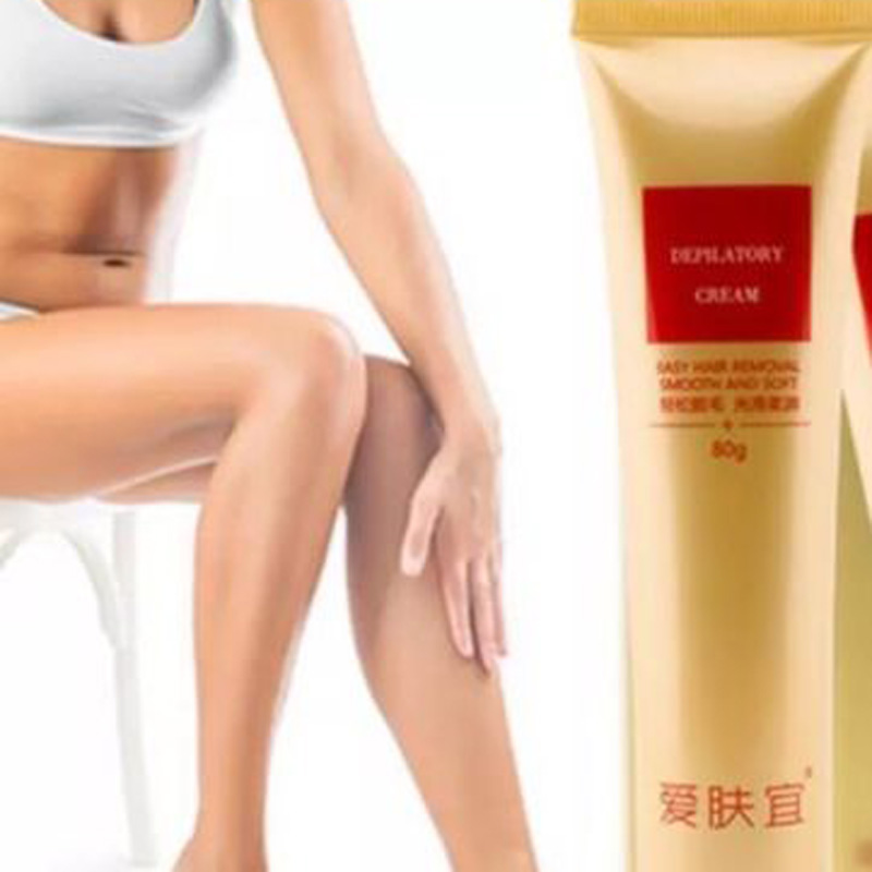 Natural Permanent Hair Removal Cream