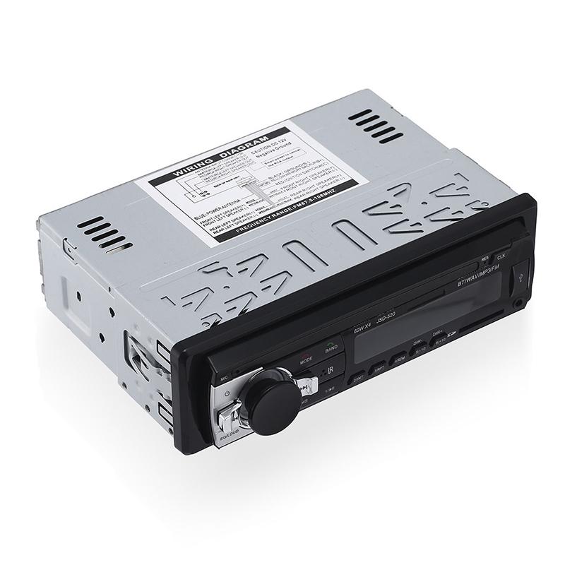 radio bluetooth voiture bord stereo mp3 lecteur fm r cepteur haut parleur ebay. Black Bedroom Furniture Sets. Home Design Ideas