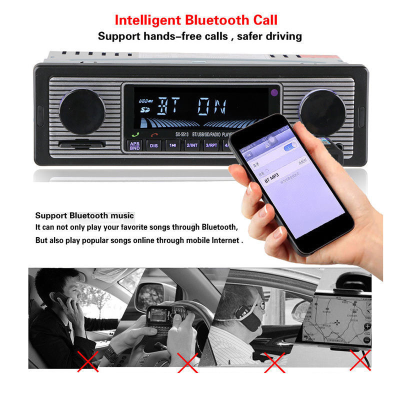 Better Now Mp3 Original: Bluetooth MP3 Player USB AUX Pandora Cars Stereo USB FM