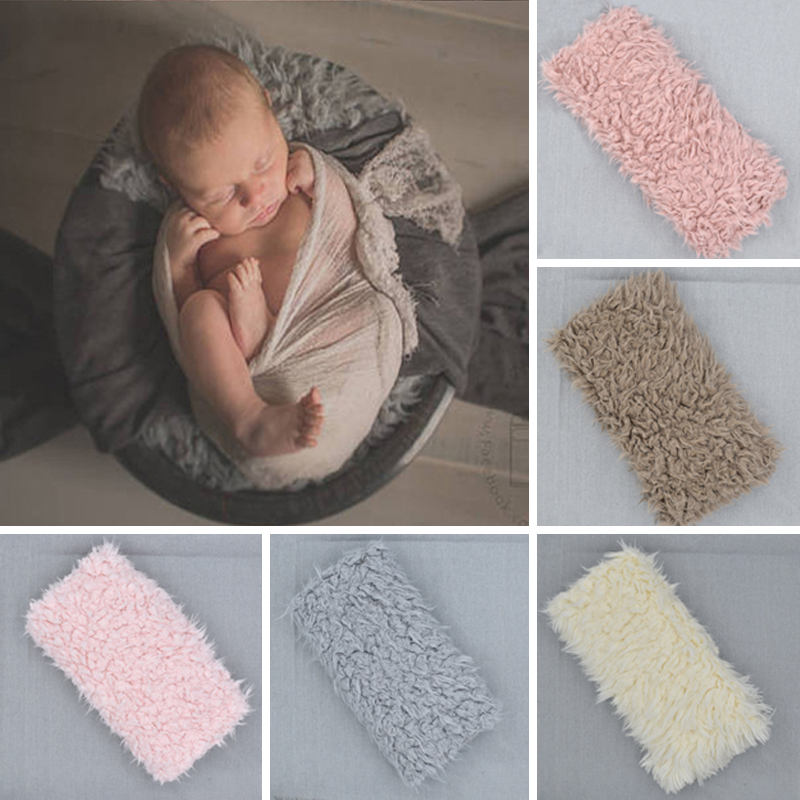 uk beauty baby faux fur soft blanket basket stuffer rug backdrop photography pro ebay. Black Bedroom Furniture Sets. Home Design Ideas