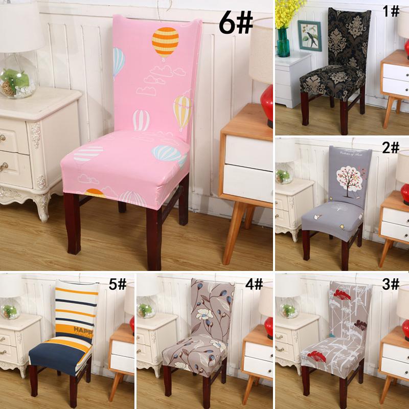 Universal oficina comedor banquete de boda silla funda de asiento funda ebay - Fundas asiento sillas comedor ...
