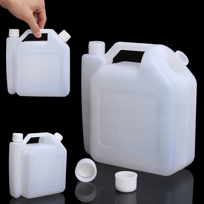 1 5l Oil Petrol Fuel Mixing Bottle Tank Container 25 1 50 1 Fr 2 Stroke Chainsaw Ebay