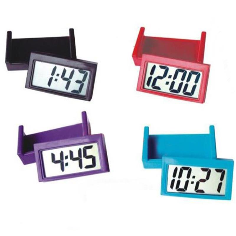Mini Lcd Uhr Kalender Anzeige Digital F Auto